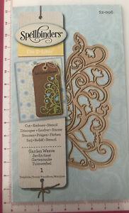 Spellbinders Die D-Lites 'Garden Weave' 1 Die S2-006 Sizzix Cuttlebug Compatible