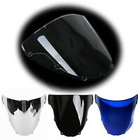 New Windshield Windscreen Dual Bubble For KAWASAKI Ninja ZX6R ZX636 2003 2004