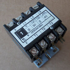 GE CR353AC4BA1 Magnetic Contactor 4 Pole 30 Amp 120V Coil Used