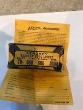 Vintage NOS Aerovox Duranite Capacitor 0.0068uF 600V