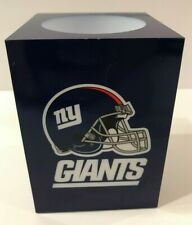 Nfl New York Giants Football Square Flameless Candle Led Light Flickering Candle