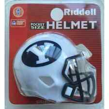 BRIGHAM YOUNG COUGARS BYU NCAA Riddell SPEED POCKET PRO Mini Football Helmet
