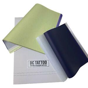 *Premium* TATTOO Carbon Hecto Transfer STENCIL PAPER uk