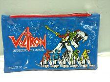 Voltron pencil bag 1984