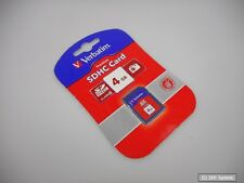 NEU! 4GB Verbatim SD / SDHC Class 6 Speicherkarte