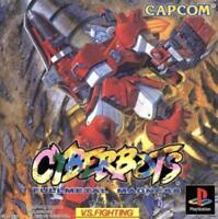 USED PS1 Cyberbots: Full Metal Madness Japan Import