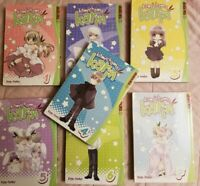 Kamichama Karin Vol. 1,2,3,4,5,6,7 Manga Graphic Novels Set English