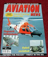 Aviation News 2007 March Fairey Firefly,Parasev,VC10