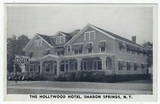 Sharon Springs, New York, Early View of The Hollywood Hotel