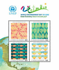 St. Vincent 2013 - SC# 3856 United Nations Environment Day - Sheet of 4 - MNH