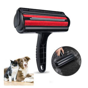 Pet Hair Remover Sofa Clothes Lint Cleaning Brush Reusable Dog Cat Fur Roller