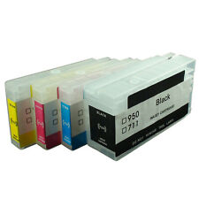 711 Refillable Ink Cartridge for HP 711 Designjet T120 T520  with chips Empty