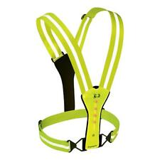 Amphipod Xinglet Flash LED Runner's Vest High Visibility Green