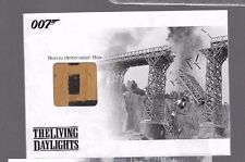 JBR9 James Bond relic card Bomb Detonator box 176/444 007 variation relic car