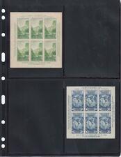 4 Pockets Stock Album Pages Beer Rock Bottom Stamps Black Vario 2St 25 Sheets