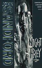 NIGHT PREY by JOHN SANDFORD (Paperback, 1994) GOOD CONDITION