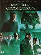 The Matrix Revolutions (Dvd, 2004, 2-Disc Set, Keanu Reeves) Free Shipping