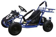 48v 1000 Watt Electric 3 speed Off Road Go Kart for Kids Blue