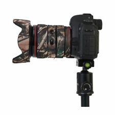 Canon 400mm F2.8 Mk2 Neopreno Lente Camuflaje Abrigo Cover Woodland Camo