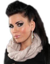 Bufanda de mujer beige de talla única