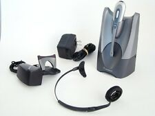 Plantronics CS55 Wireless Headset Outfit, with HL10 handset lifter. Deluxe.