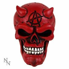 Red Devil Skull Gear Knob Anarchy Gearstick 6cm High Nemesis Now
