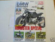 BMW MOTORRÄDER MOTORRAD SONDERHEFT MO NO 47 R68,R110 GS,R1200 SGS,K1300 R,F800 R