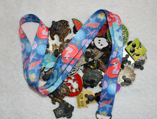 Disney pin trading Starter Set Lanyard + 50 pin lot  NEW Ariel Flounder Lanyard
