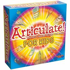 Articulate for Kids Board Game NEW FREE P&P