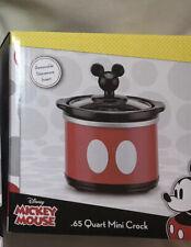 Disney Mickey Mouse Round Slow Cooker - .65 Quart Qt Mini Crock