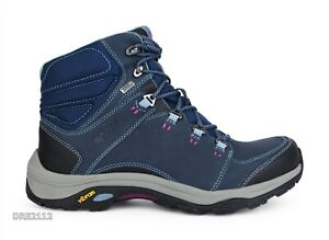 Ahnu Montara III Boot Event Blue Spell Leather Boots Womens Size 9.5 *NIB*