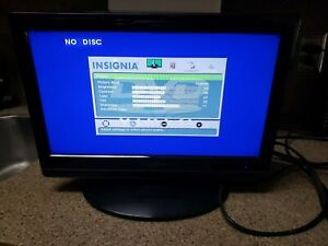"""INSIGNIA LCD Color TV & DVD Player Combo 19"""" with Stand NO Reserve!!"""