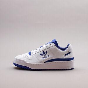 Adidas Originals Forum Bold White Blue Classic Basketball New Women Shoes FY4530