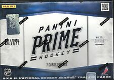 2012-13 Prime Factory Sealed Hockey Hobby Box 3 Hits + Prime Color Logo Inserts!