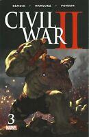 Civil War II 2 #3 MARVEL COMICS  1ST Print COVER A DANVERS DEATH