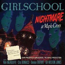 GIRLSCHOOL - NIGHTMARE AT MAPLE CROSS   CD NEU
