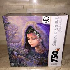 JOSEPHINE WALL SPIRIT OF WINTER GLITTER EDITION 750 PC JIGSAW PUZZLE