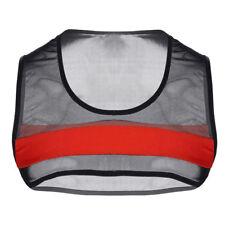 Sexy Men Mesh Sheer See-Through Fishnet Muscle Tank Crop Top Shirts Club wear #L