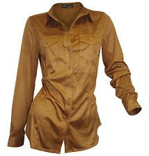 e602afb8b297 Damen-Blusen für Kellner Normalgröße aus Wildleder günstig kaufen   eBay