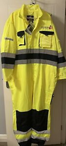 RARE New Michelin Solutions Tyre Protective Overalls Coverall Workwear Hi-vis