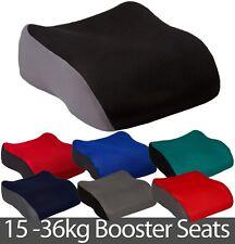 Small Booster Safety Car Seat Polystyrene 3-12yrs Child Van Minibus Boy Girl