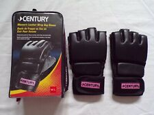 Century womens leather wrap bag gloves pink MMA Medium/Large