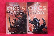 Orcs - Tome 1 et 2 - Stan Nicholls - Livre grand format - Occasion