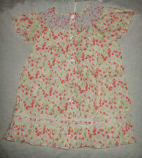 CHICCO ROBE AVEC MANCHES 18 MOIS MY FIRST CHICCO BLANC IMPRIME FLEURS