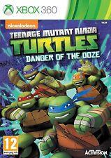 XBOX 360 Juego Teenage Mutant Ninja Turtles - Die Gefahr des ooze-schleims NUEVO