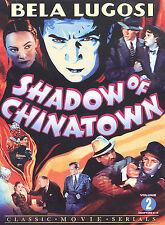 Shadow Of Chinatown - Volume 2 (Dvd, 2003) Bela Lugosi new