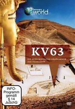 KV 63 Die geheimnisvolle Grabkammer der Pharaonen - DVD - Neu - Discovery World