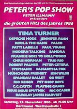 POP SHOW - 1986-Affiche concert-Depeche Mode-FALCO-Modern Talking-Poster