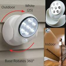 LED Motion Activated Cordless Sensor Light Indoor Outdoor Security Flood Lamp