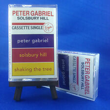 PETER GABRIEL: Solsbury Hill (OUT OF PRINT RARE 1990 CASSETTE SINGLE)